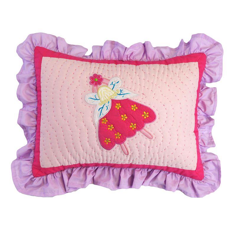 Bacati Fairy Land Decorative Pillow