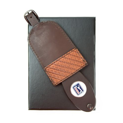 PGA Tour Leather Briefcase Tag