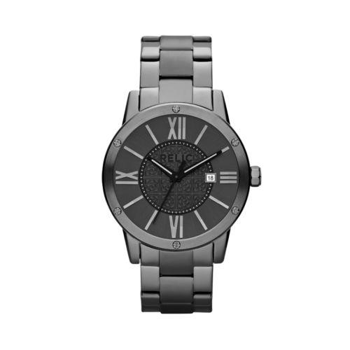 Relic Payton Stainless Steel Gunmetal Ion Watch - ZR11998 - Men