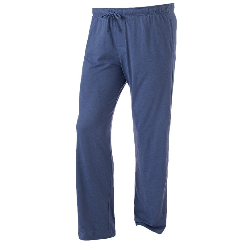 Big & Tall Croft & Barrow® Solid Jersey Knit Lounge Pants