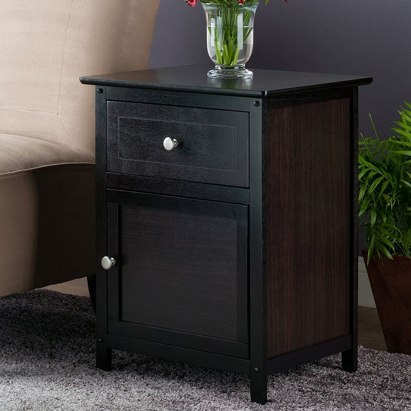 Winsome Nightstand, Brown