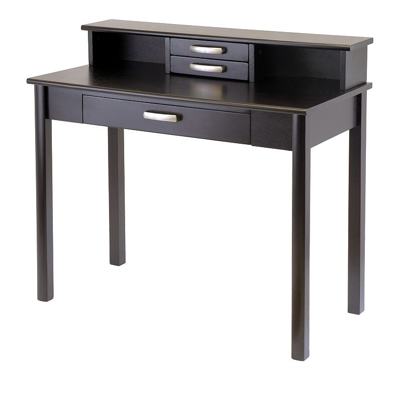 Winsome Liso 2-pc. Writing Desk and Hutch Set