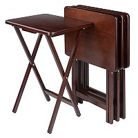 Winsome 4-Pc. TV Tray Table Set