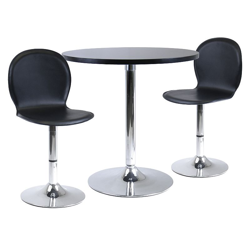 Winsome Spectrum 3-pc. Dining Table Set