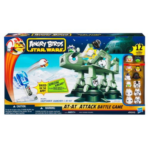 Angry Birds Star Wars AT-AT Attack Battle Game by Hasbro