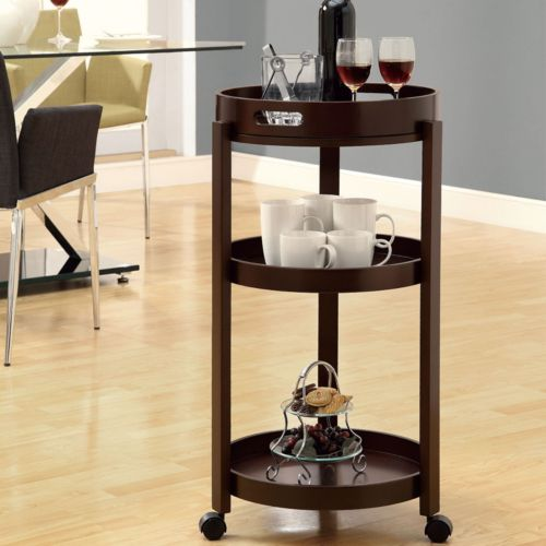 Monarch Bar Cart with Tray