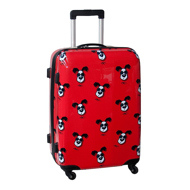 Ed Heck Looking Cool 25-Inch Hardside Spinner Luggage
