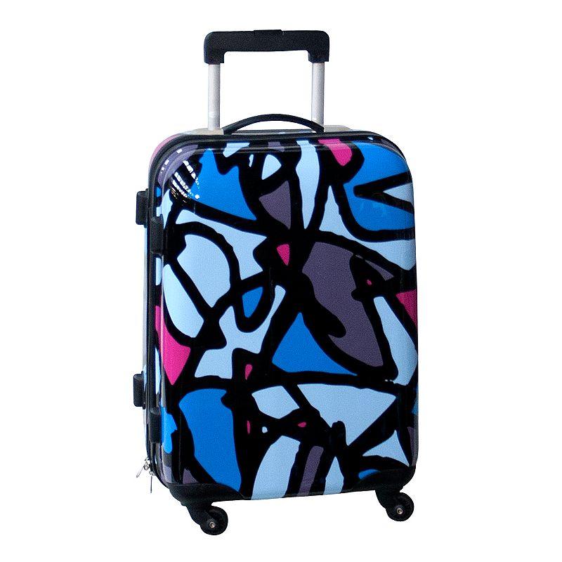 Ed Heck Scribbles 21-Inch Hardside Spinner Luggage