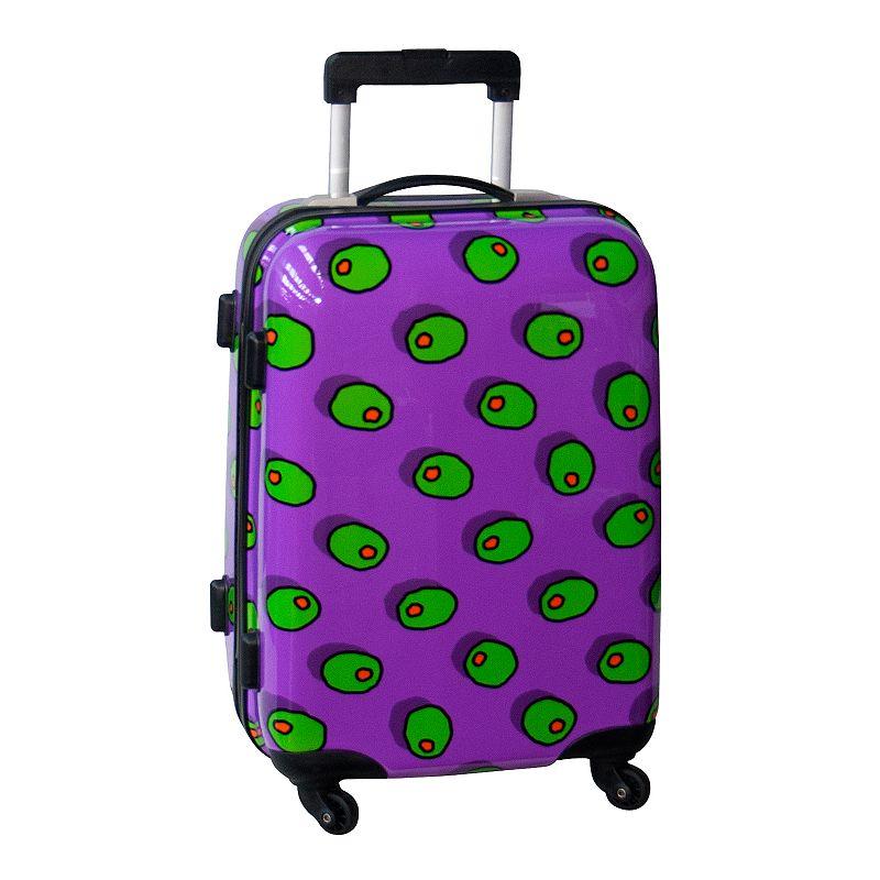 Ed Heck Olives 21-Inch Hardside Spinner Luggage