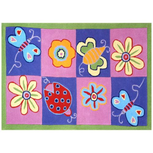 Acura Homes Butterfly Rug - 3' x 5'