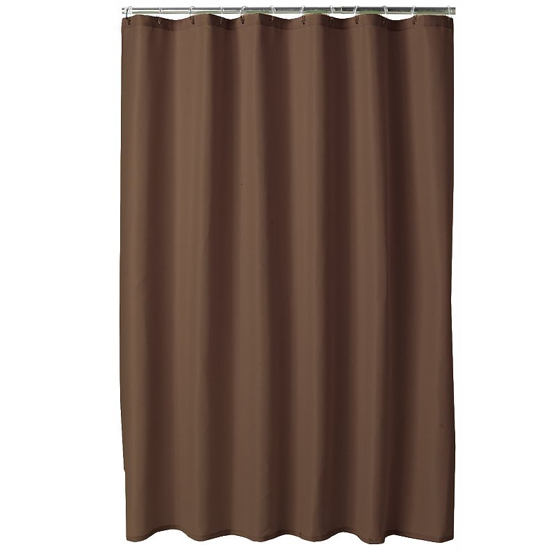 Home Classics Embossed Fabric Shower Curtain Liner