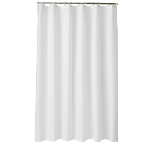Home Classics® Embossed Fabric Shower Curtain Liner