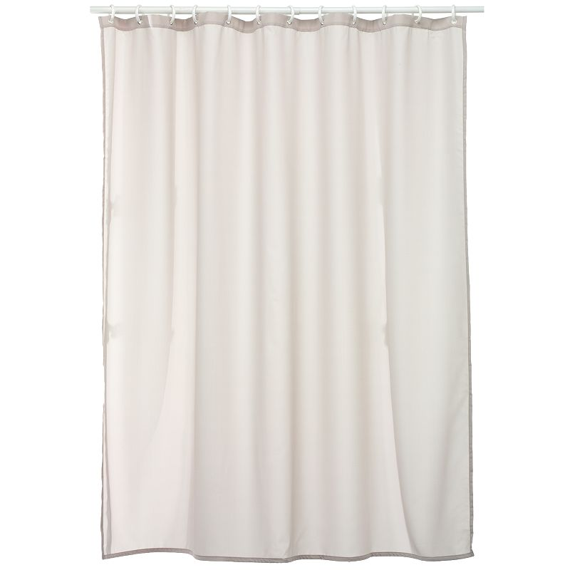 Home Classics® Solid Fabric Shower Curtain Liner