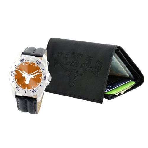 Texas Longhorns Watch and Wallet Gift Set