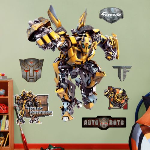 Transformers Bumblebee Wall Decals by Fathead