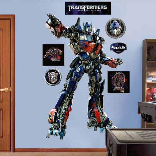 Transformers Optimus Prime Wall Decals by Fathead