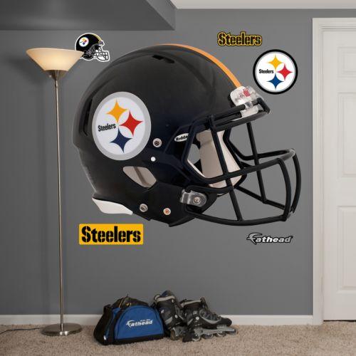 Fathead Pittsburgh Steelers Revolution Helmet Wall Decals