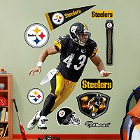 Fathead Pittsburgh Steelers Troy Polamalu Wall Decals