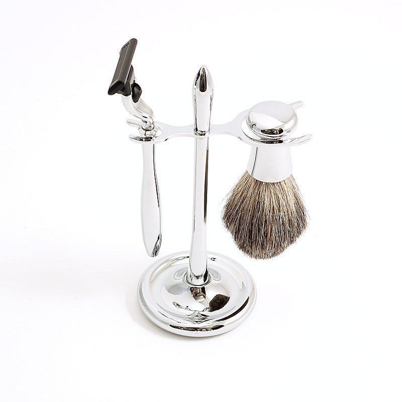 3 pc mach3 shaving kit silver. Black Bedroom Furniture Sets. Home Design Ideas