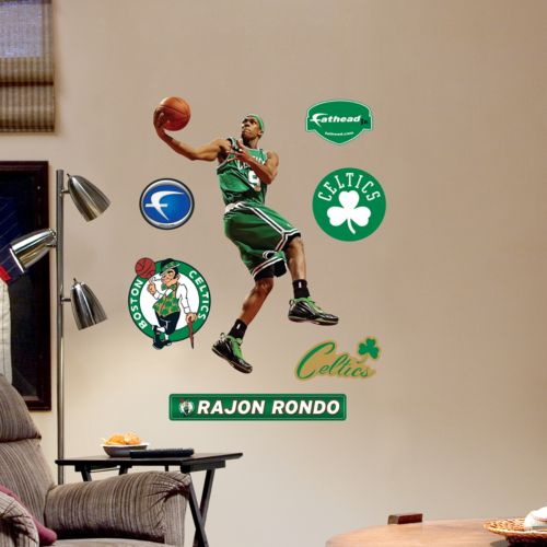 Fathead Boston Celtics Rajon Rondo Wall Decals