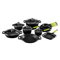 Fundix by Castey Cast-Aluminum 15-pc. Cookware Set