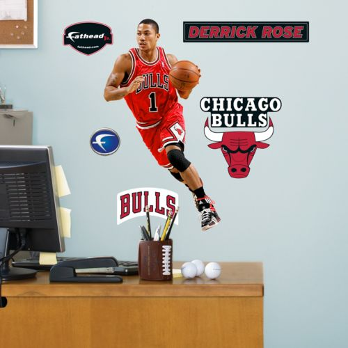 Fathead Chicago Bulls Derrick Rose Wall Decals