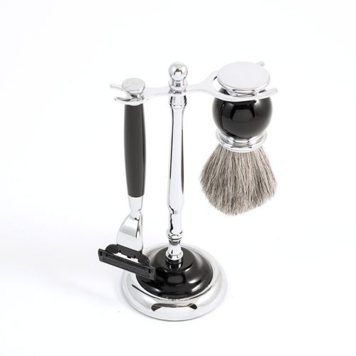 3-pc. Black Mach3 Shaving Kit