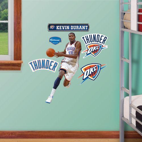 Fathead Oklahoma City Thunder Kevin Durant Wall Decals