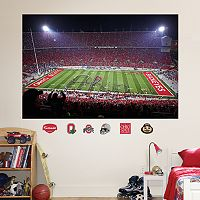Fathead Ohio State Buckeyes Night Stadium Mural Wall Decals