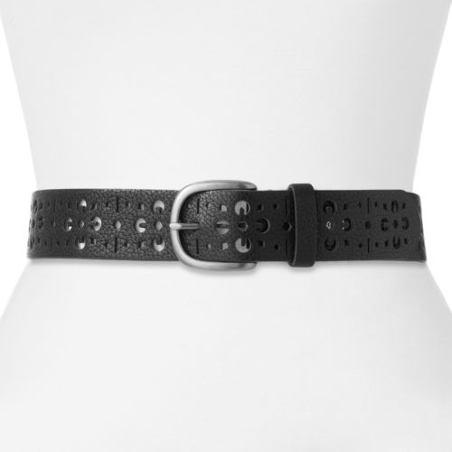 Relic Floral Perforated Belt