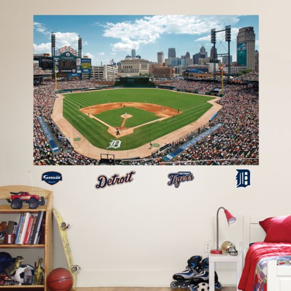 Fathead Detroit Tigers 5-Piece Comerica Park Mural Wall Decals