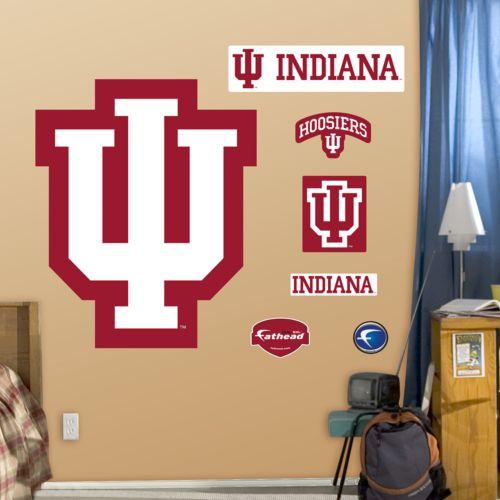 Fathead Indiana Hoosiers Logo Wall Decals