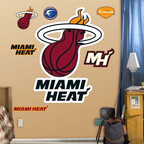 Fathead Miami Heat Logo Wall Decals