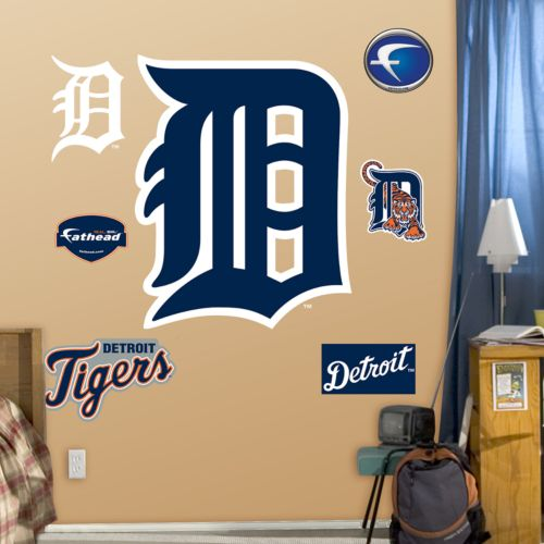 Fathead Detroit Tigers Logo Wall Decals