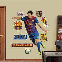 Fathead FC Barcelona Lionel Messi Wall Decals