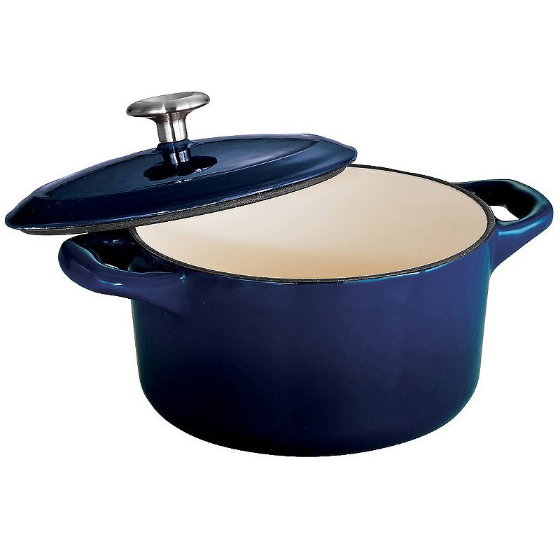 Tramontina Enameled Cast-Iron 24-oz. Mini Cocotte