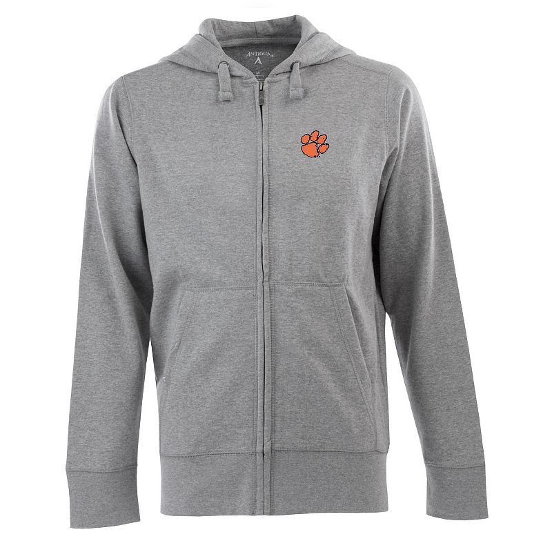 Men's Clemson Tigers Signature Full-Zip Fleece Hoodie