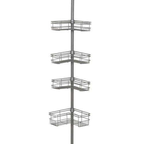 Zenith 4-Tier Tension Pole Shower Organizer