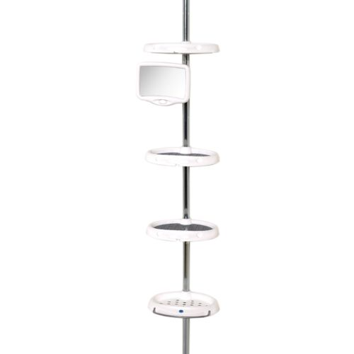 Zenith 4-Tier Tension Pole Shower Organizer