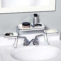 Zenith Small Spaces Faucet Shelf