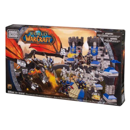 World of Warcraft Deathwing's Stormwind Assault by Mega Bloks - 91016
