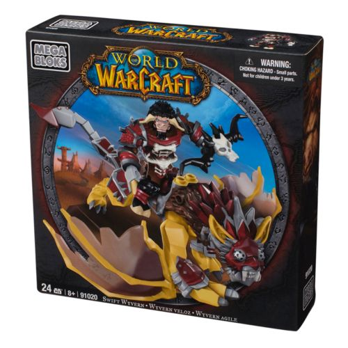 World of Warcraft Swift Wyvern and Scarbuck Set by Mega Bloks - 91020