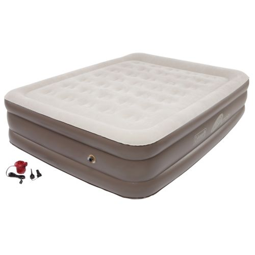Coleman Quickbed Double-High Air Bed with Pump - Queen
