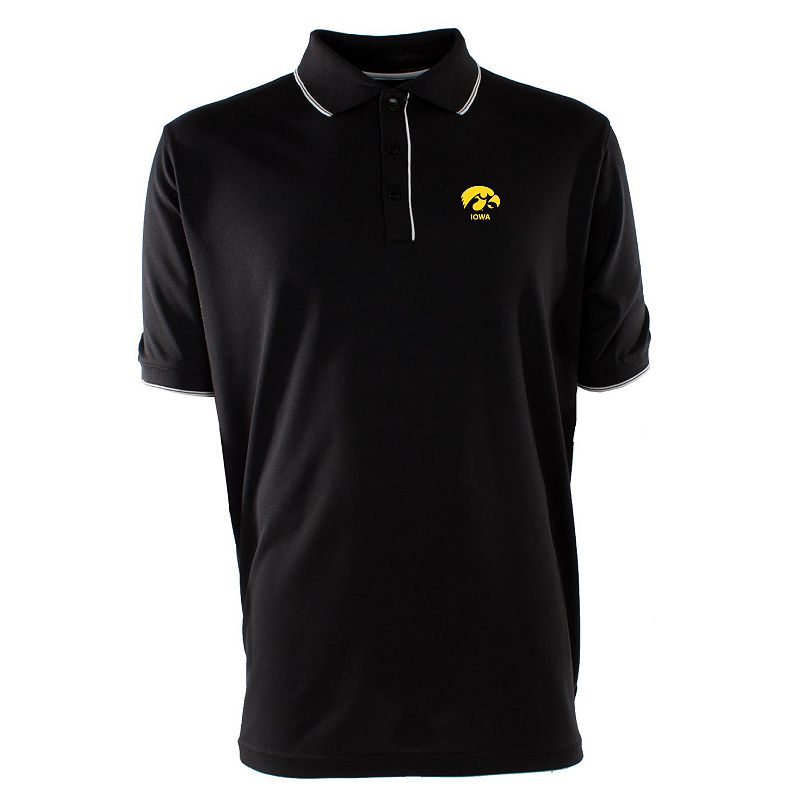 Men's Iowa Hawkeyes Elite Desert Dry Xtra-Lite Pique Polo