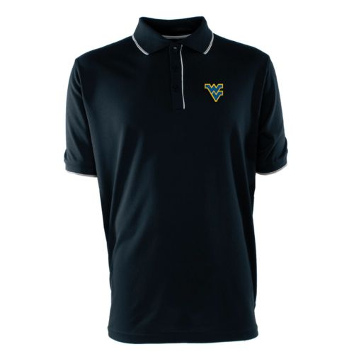 Men's West Virginia Mountaineers Elite Desert Dry Xtra-Lite Pique Polo