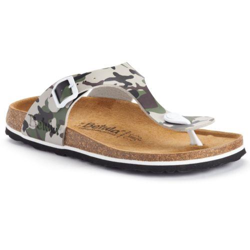 Betula Licensed by Birkenstock Rose Soft Footbed Thong Sandals - Women