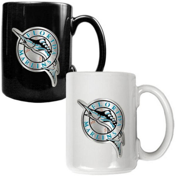Florida Marlins 2-pc. Ceramic Mug Set