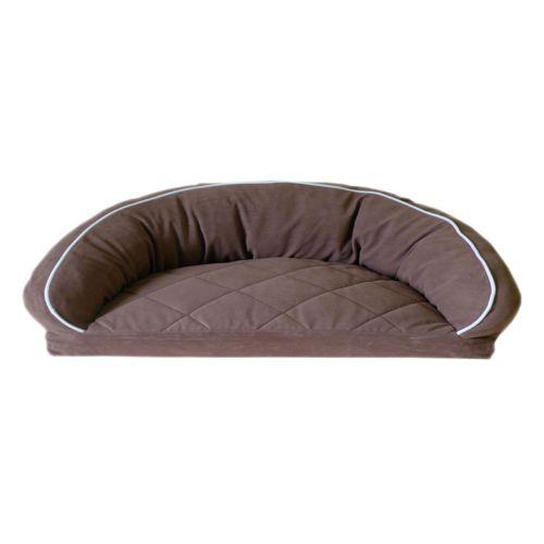 Carolina Pet Co. Microfiber Semicircle Lounge Pet Bed - 42'' x 28''