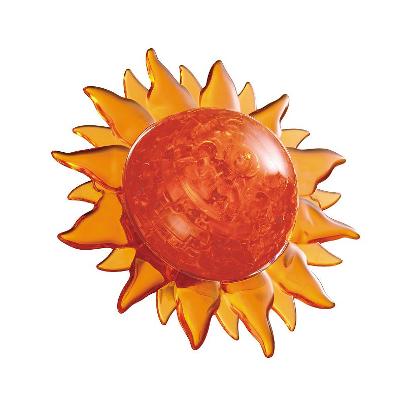 3D Crystal Sun Puzzle