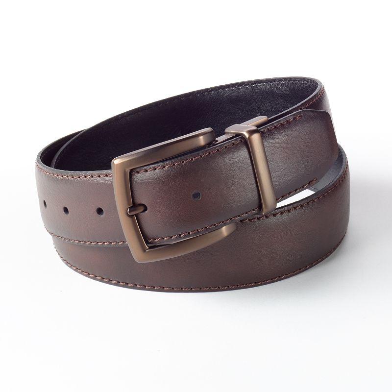 Men's Columbia Reversible Leather Belt
